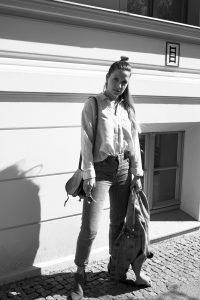 streetstyle-Denim-Halfbun-look